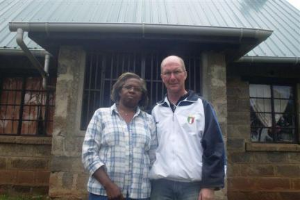 Chris & Sonia, the leaders of the Molo Street Children's Project