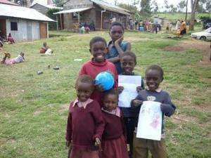 Children group in uniform