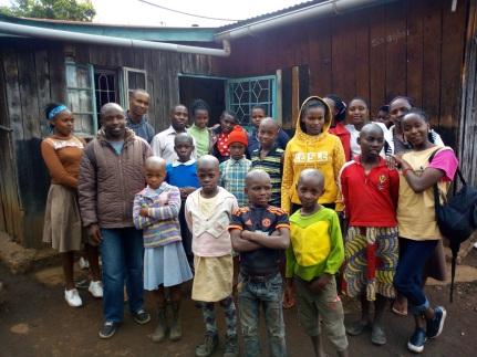 AIC Molo Youth group visiting