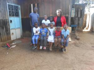 Children in Amy's house with foster mum